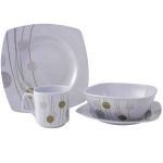 A La Carte 16pc Melamine set