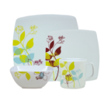 Royal 16 pc Caravan Melamine set, Treetops
