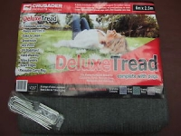 Crusader Deluxe Tread, groundsheet with pegs 2.5m x 2.5m