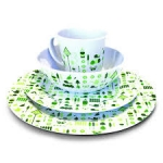 16pc Caravan Melamine Tableware set, Bewdley