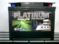 Platinum Caravan, Motorhome Leisure battery (75 amp)
