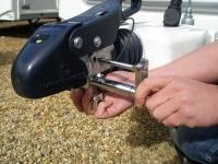 Milenco Compact Hitchlock, for Winterhoff stabiliser