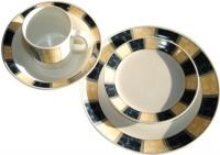 16 pc Royal Classic Melamine set (Dish washer safe)